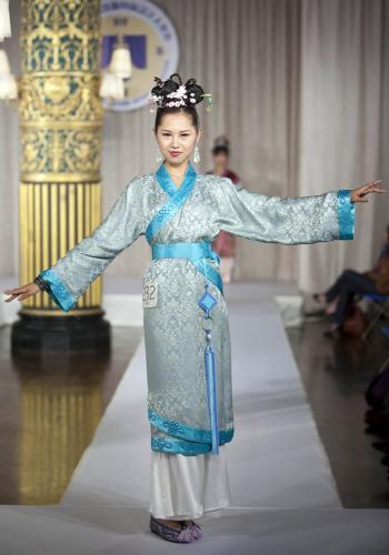 応募作品 「グローバル漢服デザインコンテスト」ニューヨークで開催、漢服の美を堪能(...